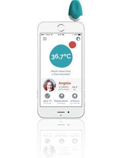 Con l'App in italiano puoi mandare la temperatura del tuo bambino direttamente al tuo medico  Scopri di più su www.iteknologic.com