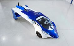 World premiere: Advanced prototype of the flying roadster AeroMobil 3.0 - via www.themilliardaire.co