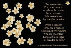 Caçador de mim, Milton Nascimento