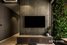 BEST TV FEATURE WALL IDEAS | Wall Partition Design | Geylang | Design Wall Panel  TV wall ideas singapore Tv Feature Wall, Feature Wall Living Room, Feature Wall Design, Design Villa Moderne, Modern Villa Design, Wall Partition Design, Tv Wall Design, Hall Design, Grey Wall Tiles
