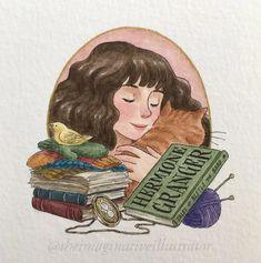 Harry Potter Fan Art, Harry Potter Portraits, Harry Potter Sketch, Harry Potter Journal, Harry Potter Painting, Harry Potter Stickers, Mundo Harry Potter, Harry Potter Drawings, Harry Potter Hermione