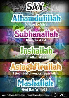 Islam  Islam..Alhamdulillah...InsyaAllah..SubhanAllah