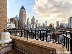 Looking over #Midtown from this #NYC apartment: http://www.nyhabitat.com/new-york-apartment/furnished/16334