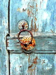 Fine art print photography : Rusted door by frenchvintagedream