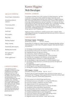 learn how to write a web designer cover letter by using this professionally written sample - Sample Cover Letter For Babysitting Job