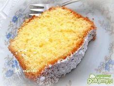 Piaskowa babka cytrynowa Easy Blueberry Muffins, Blue Berry Muffins, Polish Cookies, Lemon Butter Sauce, Polish Recipes, Polish Food, Health Diet, Cornbread, French Toast