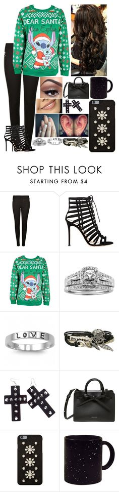 """""""Untitled #3033 - 25 Days of Christmas Sweaters! - Day 1 - 12/1/16"""" by nicolerunnels ❤ liked on Polyvore featuring Gucci, Gianvito Rossi, Disney, A.Jaffe, Fantasy Jewelry Box, J.A.K. and MICHAEL Michael Kors"""