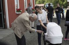 Prince Carl Philip, Princess Sofia Hellqvist and son Prince Alexander attended Stenhammar Day.