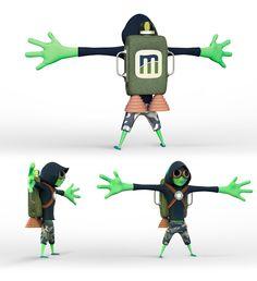 """Mascote Máxima Sistemas """"Maximilian"""""""
