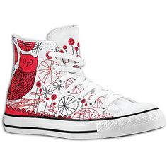 love these!!!... CONVERSE CT Red Owl Hi Lace-Ups Shoes White Mens: CONVERSE: Shoes