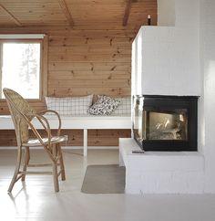 """The """"new"""" fireplace  / 70-luvun avotakasta varaavaksi takaksi"""