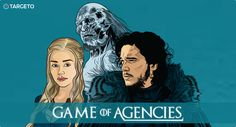 GAME OF AGENCIES The advertising industry is just like the fictional city of Westeros. Advertising Industry, The Agency, Digital Marketing, Old Things, Games, City, Movie Posters, Film Poster, Popcorn Posters