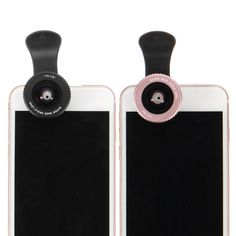 Universal 2 In 1 Mobile Phone Lens 0.6X Wide Angle 15X Macro For SmartPhone Tablet