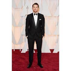 #StefanoGabbana Stefano Gabbana: Channing Tatum wearing Dolce&Gabbana to the 87th Annual Academy Awards on February 22, 2015. #oscars #oscars2015 #dgcelebs ❤️❤️❤️#dgfamily
