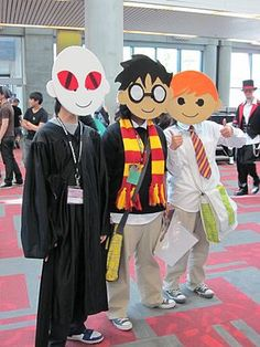 Potter Puppet Pals cosplay...O.M.G. This is fantastic!