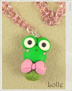 Clay Flurry Frog by LolleBijoux.deviantart.com on @deviantART