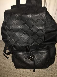 620cc32aae2 Authentic versace backpack italian leather #fashion #clothing #shoes  #accessories #otherclothingshoesaccessories (
