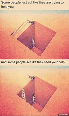 Or they just don't know how to use ladder. lol