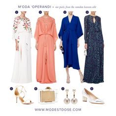 The upscale website Moda Operandi have dedicated a Ramadan boutique for those seeking pure indulgent luxury! Here are our picks from the boutique! https://www.modaoperandi.com/editorial/ramadan 1.Monique Lhuillier 2.Monique Lhuillier 3.Tome 4.Prabal Gurung 5.Aquazzura 6.Charlotte Olympia 7.Delfina Delettrez 8.Nicholas Kirkwood