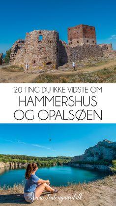 20 ting du ikke vidste om Hammershus og Opalsøen - Rejsebloggen TeaTougaard.dk Slot, Museum, Outdoor, Athens, Outdoors, Outdoor Games, The Great Outdoors, Museums