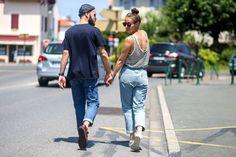 J'aime tout chez toi - Denim lover - French fashion couple - Levi's 501 boyfriend jeans