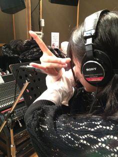 """BABYMETAL Official Twitter:@BABYMETAL_JAPAN         """"Doki Doki☆Morning"""" recording"""