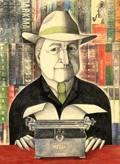 Retrato de John Banville, el escritor irlandés también conocido como Benjamin Black