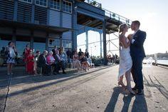 Sarah & Ryan's First Dance // Flying Fish Restaurant, Jones Bay Wharf - Andrea Calodolce Ryan Jones, Tears Of Joy, First Dance, Laughter, Weddings, Wedding, Marriage, Mariage