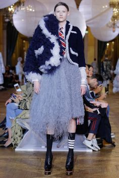 Thom Browne  #VogueRussia #readytowear #rtw #springsummer2018 #ThomBrowne #VogueCollections