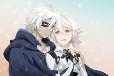 Niles x Corrin Niles Fire Emblem, Fire Emblem Characters, Fire Emblem Fates, Blue Lion, Tsundere, Poses, Samurai, Boy Or Girl, Video Games