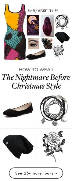 """My Nightmare before Christmas outfit- Sally"" by chelsienicole27 on Polyvore featuring Verali and Forever 21"