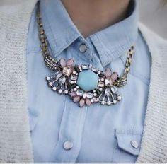 Stunning necklace. www.ôdetojoy.com New brand to follow !