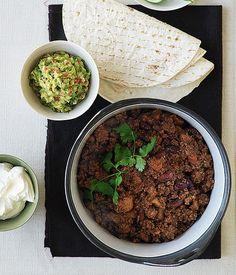 Australian Gourmet Traveller Tex-Mex classic recipe for chilli con carne