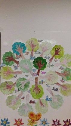 Arbour Day, Earth Day, Pre School, Green Day, Easy Drawings, Birds, Painting, Montessori, Gardens