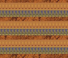 Windows_of_Africa fabric by art_on_fabric on Spoonflower - custom fabric