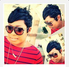 Short style *