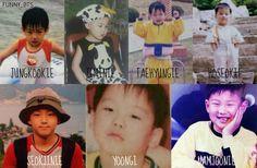 BTS Baby pictures