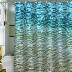 DENY Designs Home Accessories   Shannon Clark Ombre Sea Shower ...