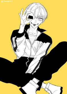 Hot Anime Guys, Kenma, Kawaii Art, Urban Art, Aesthetic Anime, Anime Characters, Anime Art, Cartoon, Brain