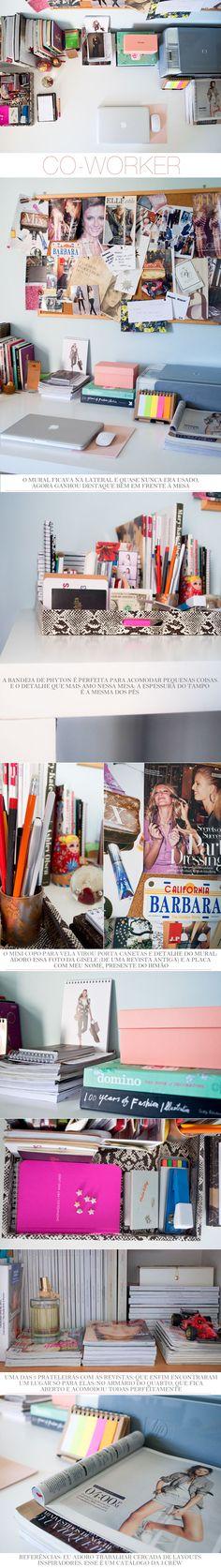 d515f5fb9385 Home Office da Barbara Resende do Fashion Gazette