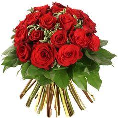 18 rosas de primera calidad disponible en http://www.LaFleurFloreria.com.mx Floreria en linea con servicio en Guadalajara, Jalisco, Mexico