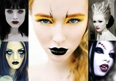 Top Five Easy To Create Halloween Makeup Ideas - on buzzingtrends blog