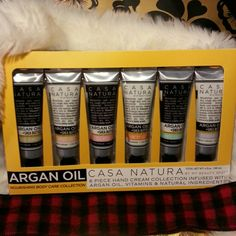 20% OFF Argan Oil Casa Natura Gift Set Argan Oil + Shea Butter 6pc Hand Cream Set. Includes Citrus Verbena, White Iris, Tea Rose, Country Lily, White Gardenia and Lavender Sage. Very nice gift for someone special. Thank you for shopping and Have a very Merry Christmas! Casa Natura Other