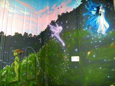 faerie fairy faery faeries murals