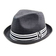 407acabfe52 Get your funky style on with this 100% paper straw fedora. It is thickly