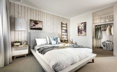 Luxurious master suite offers a walk-in robe and stunning ensuite