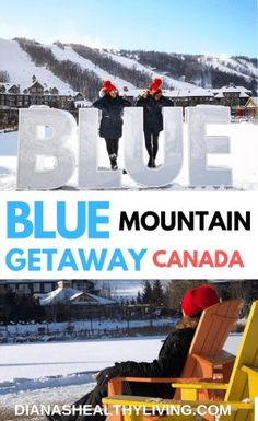 If you are in need of a winter escape then a Blue Mountain Getaway is one of the most perfect short trips from Toronto. I love visiting Blue Mountain in all seasons but it is Alberta Canada, Travel Guides, Travel Tips, Canada Vancouver, Canada Destinations, Amazing Destinations, Ontario Travel, Canadian Travel, Visit Canada