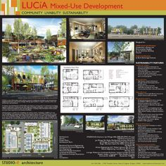 architectural presentation boards layout google search