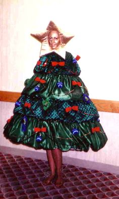 d807d64f118 This outfit was designed to terrify small children into behaving at  Christmas parties! Christmas Tree
