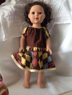 Doll Clothes - Alyssa Top and Skylar Skirt- $17
